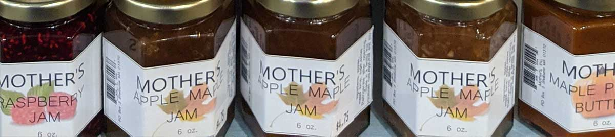 Jams, Jellies, Sweet Preserves, Maple Products, and Honey