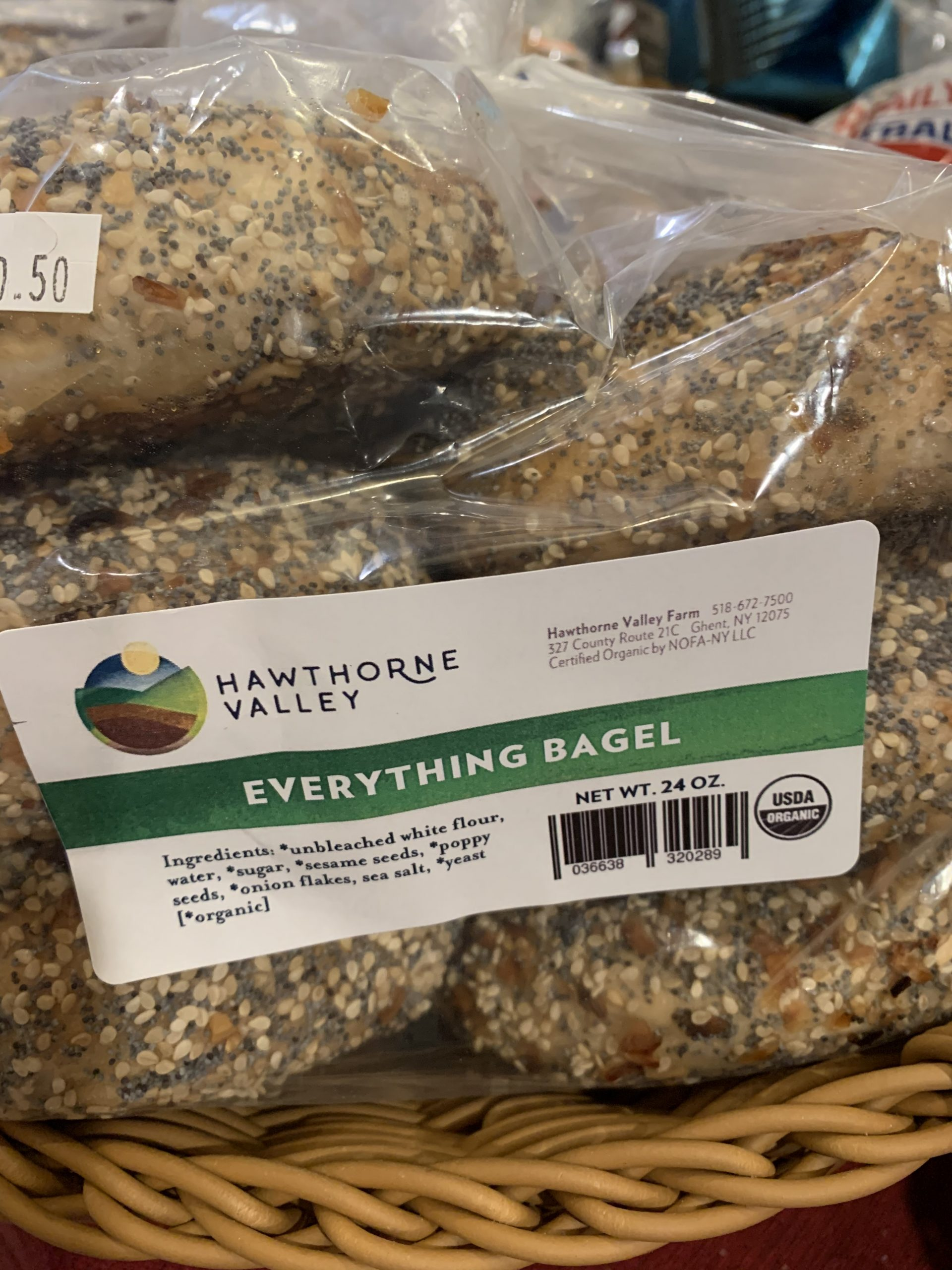 Hawthorne valley everything bagels